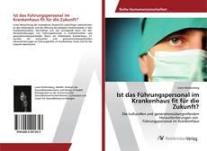 Bookcover of Ist das Führungspersonal im Krankenhaus fit für die Zukunft?