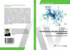 Bookcover of Continuous Double Auctions in Networks