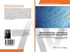Couverture de Webcontrolling - Ermittlung erfolgsrelevanter Kennzahlen