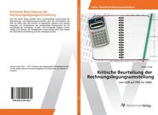 Bookcover of Kritische Beurteilung der Rechnungslegungsumstellung