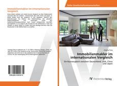 Buchcover von Immobilienmakler im internationalen Vergleich