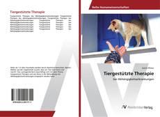 Bookcover of Tiergestützte Therapie