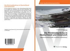 Buchcover von Die Printmedienkrise in Deutschland und Österreich