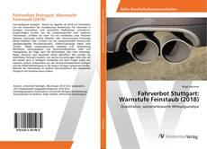 Borítókép a  Fahrverbot Stuttgart: Warnstufe Feinstaub (2018) - hoz