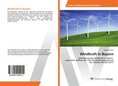 Capa do livro de Windkraft in Bayern