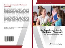 Capa do livro de Die Grundprinzipien der Montessori-Pädagogik