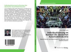 Couverture de Individualisierung im Kontext der deutschen Automobilindustrie
