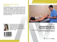 Обложка Osteopathie bei AS (Morbus Bechterew)