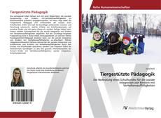 Bookcover of Tiergestützte Pädagogik