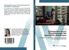 Bookcover of Osteopathie versus Physiotherapie bei Spondylitis Ankylosans