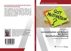 Bookcover of Lernmotivation am Beispiel der dualen Berufsschulausbildung