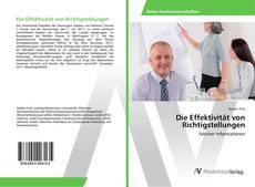 Bookcover of Die Effektivität von Richtigstellungen