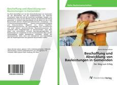 Bookcover of Beschaffung und Abwicklung von Bauleistungen in Gemeinden