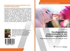 Couverture de Hundegestützte Interventionen in der Mobilen Jugendarbeit