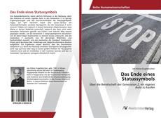 Buchcover von Das Ende eines Statussymbols