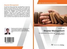 Disaster Management kitap kapağı