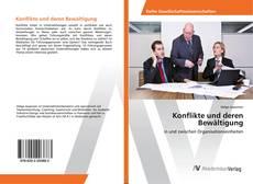 Bookcover of Konflikte und deren Bewältigung