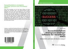 Buchcover von Auswahlverfahren strategisch wichtiger Software bei Vorarlbergs KMUs