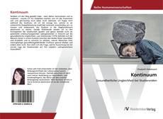 Bookcover of Kontinuum