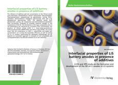 Portada del libro de Interfacial properties of LiS battery anodes in presence of additives