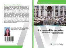 Buchcover von Brunnen und Wasserbecken