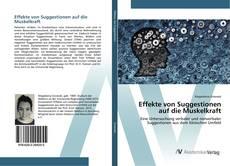 Buchcover von Effekte von Suggestionen auf die Muskelkraft