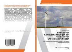 Bookcover of Einfluss von Klimaverhandlungen auf Renditen von Emissionszertifikaten