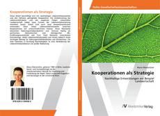 Portada del libro de Kooperationen als Strategie