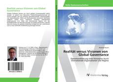 Buchcover von Realität versus Visionen von Global Governance