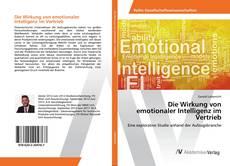 Capa do livro de Die Wirkung von emotionaler Intelligenz im Vertrieb