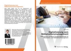 Bookcover of Digitalisierung vom Reklamationsmanagement