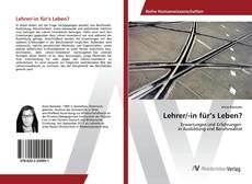 Bookcover of Lehrer/-in für's Leben?