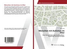 Buchcover von Menschen mit Autismus im Alter