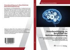 Copertina di Stressbewältigung im Berufsfeld der Behindertenbetreuung