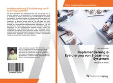 Capa do livro de Implementierung & Evaluierung von E-Learning Systemen