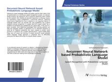Buchcover von Recurrent Neural Network based Probabilistic Language Model