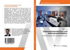 Portada del libro de Unternehmenskultur und Softwarearchitektur