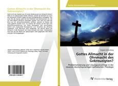 Buchcover von Gottes Allmacht in der Ohnmacht des Gekreuzigten?