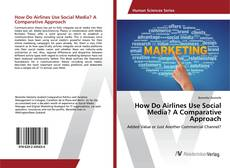 Buchcover von How Do Airlines Use Social Media? A Comparative Approach