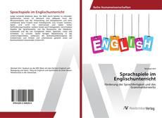Buchcover von Sprachspiele im Englischunterricht