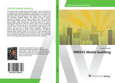 Bookcover of TRNSYS Model building
