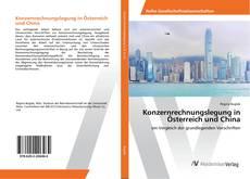 Portada del libro de Konzernrechnungslegung in Österreich und China