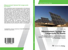 Bookcover of Measurement System for Large-scale PV Plants