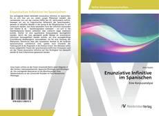Capa do livro de Enunziative Infinitive im Spanischen