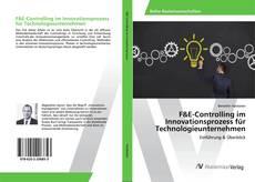 Portada del libro de F&E-Controlling im Innovationsprozess für Technologieunternehmen
