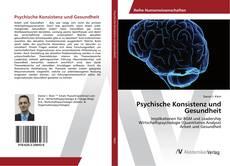 Buchcover von Psychische Konsistenz und Gesundheit