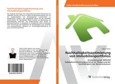 Bookcover of Nachhaltigkeitsoptimierung von Immobilienportfolios