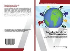 Capa do livro de Deutschunterricht mit Flüchtlingskindern