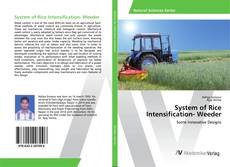 Bookcover of System of Rice Intensification- Weeder