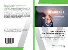 Buchcover von Data Warehouse implementation success factors